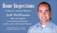 Choice Custom Homes: Home Inspection Service