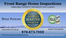 Brian Persons Front Range Home Inspections