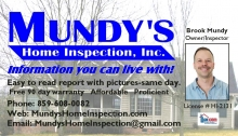 Mundy's Home Inspection Inc.