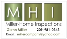 Miller-Home Inspections Stockton, ca