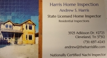 Harris Home Inspection