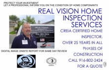 Real Vision Home Inspection Services